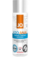 Jo H2o Anal Water Based Warming Lubricant 2oz